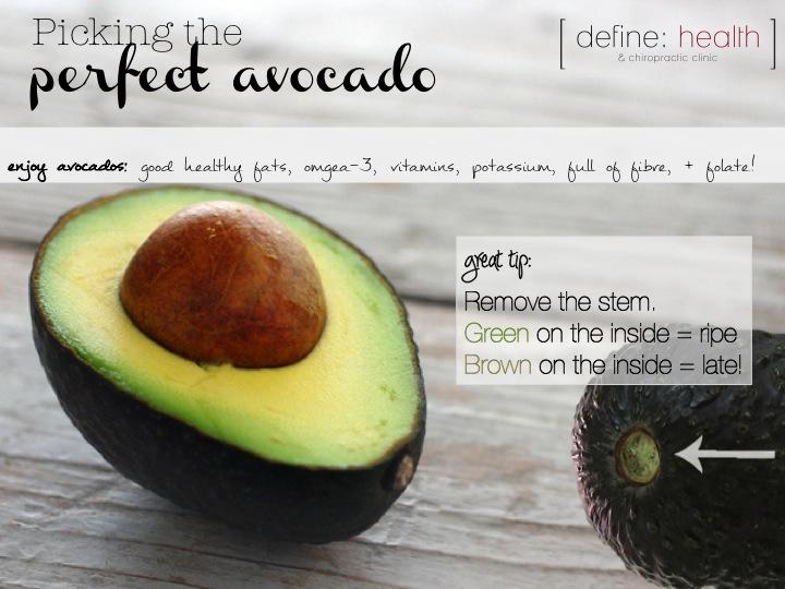 how to pick ripe avocados