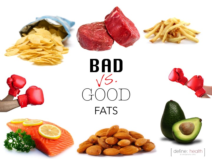 bad vs good fat