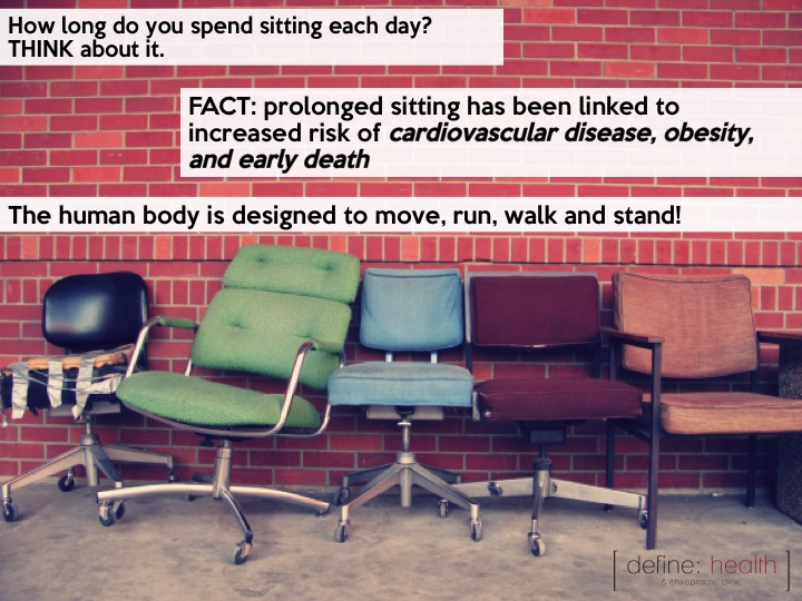 Sedentary life styles are leading to increased risk of obesity, heart disease and premature death.